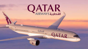 £30 Gift Card with Upfront Bookings Over £1000 at Qatar Airways