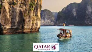 Voyagez avec la compagnie aérienne de l'année dès 495€ Qatar Airways