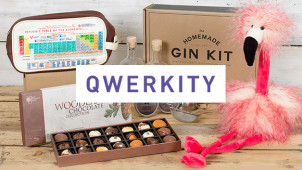 25% Off Orders Over £40 at Qwerkity