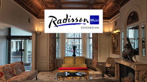 Bed and Breakfast from £125pppn at Radisson Blu Edwardian