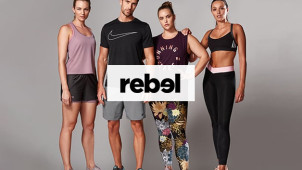 All Orders are a Minimum of 20% Off at Rebel Sport - Today Only!