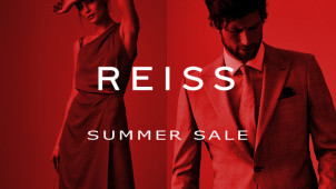 Up to 60% Off in the Summer Sale at Reiss - New Lines Added!