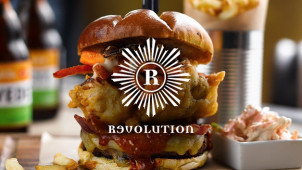 50% Off Selected Meals on Monday at Revolution Bars