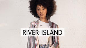 Flash Sale - Find 50% Off Orders Plus €1 Delivery at River Island