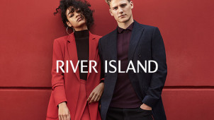 15% Off First Orders Over €85 Plus Free Delivery at River Island