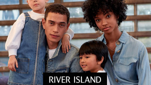 Enjoy 30% Off Seasonal Offers + Free Delivery on Orders Over €60 at River Island