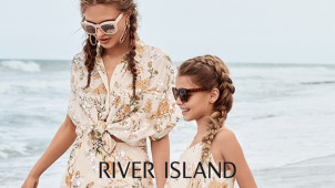 Enjoy 30% Off Seasonal Offers + Standard Delivery for €1 at River Island