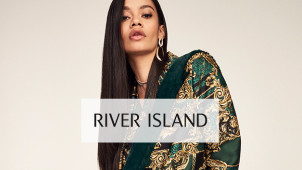 Enjoy 50% Off the RI30 Collection + 10% Off with Newsletter Sign-Ups at River Island