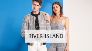 Find 70% Off in the Sale + 10% Off Orders with Newsletter Sign Ups at River Island