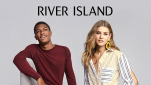 Up to 50% Off in the Flash Sale at River Island