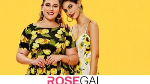 Jusqu'à -80% sur les derniéres PROMOS de la saison sur Rosegal