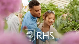 One Year Gift Membership for £64 at Royal Horticultural Society (RHS)