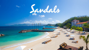 Extra £100 Off Holiday Bookings at Sandals Holidays