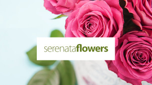 15% Off Orders Over £40 at Serenata Flowers