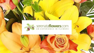 12.5% Off Orders at Serenata Flowers