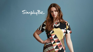Free Delivery on Fashion, Footwear and Lingerie Orders at Simply Be