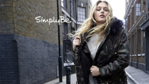 Free Delivery on First Fashion, Footwear and Lingerie Orders at Simply Be