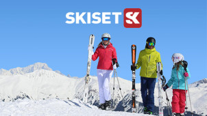 Up to 50% Off Ski Equipment Hire at Skiset