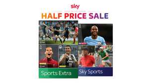 €30 Off Sky Sports & the New Sports Extra for 6 Months - Watch Every Live Premier League Game at Sky