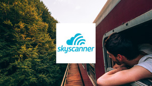 £3 Off First Rail Bookings Over £20 on App Bookings at Skyscanner