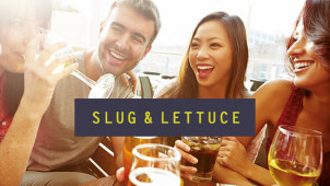 2 for 1 Cocktails at Selected Slug & Lettuce