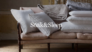 Up to 25% Off Selected Items in the Spring Refresh Deals at Soak & Sleep