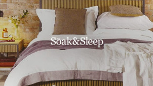 21% Off Orders Over £80 Plus Free Delivery at Soak & Sleep