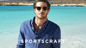 Up to 62% Off Men's Sale Items at Sportscraft
