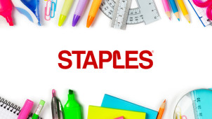 £45 Off Orders Over £300 at Staples
