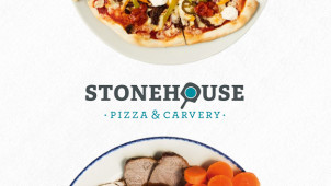 33% Off Food with the Stonehouse App at Stonehouse Pizza & Carvery