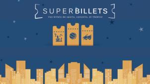 13,5€ de réduction en offre de bienvenue chez SuperBillets
