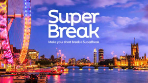 £15 Gift Card with Bookings Over £200 at SuperBreaks.com