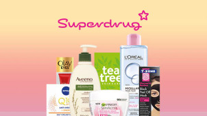 Free Delivery on Orders Over £10 at Superdrug