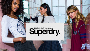 Up to 50% Off Mid-Season Sale Orders at Superdry