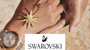£5 Gift Card with Orders Over £50 at Swarovski Crystal