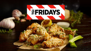 2 Courses from £10.99 Monday-Thursday at T.G.I Fridays