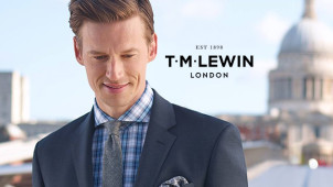 Free Delivery on Orders Over £100 at T.M.Lewin