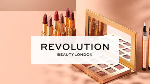Free Delivery on Orders Over £30 at Revolution Beauty