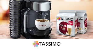 10% Off Orders Over £40 at Tassimo