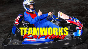 Free £3 Gift Voucher at Teamworks Karting