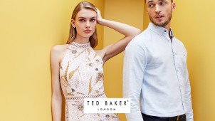 Up to 50% Off Orders in the End of Season Sale at Ted Baker
