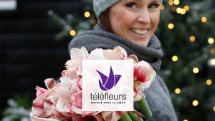 De beaux bouquets pour toutes occasion à partir de 17€ avec Téléfleurs