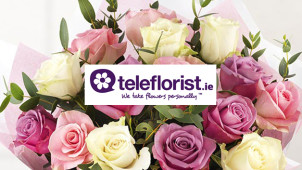 11% Off Bouquets Pre-Orders at teleflorist.ie