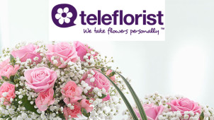 £15 Off Plus Free Chocolates on Selected Spring Flowers at Teleflorist