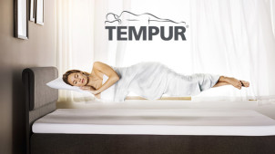 Up to £100 Off Tempur Bed Bases at Tempur