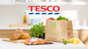 £25 Off First Orders Over £70 at Tesco Groceries