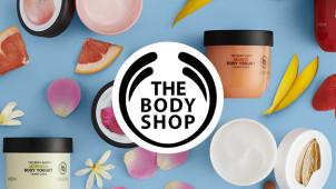 Ontvang 40% korting op elk 2e artikel bad, body en haarverzorging bij The Body Shop