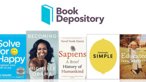 Enjoy 35% Off and Free Delivery on Best-Selling Books at The Book Depository