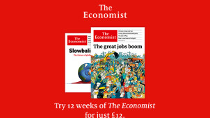 12 Weeks Subscription for £12 at The Economist
