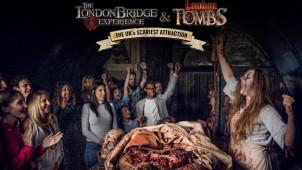 London Bridge Experience & London Tombs Entrance Ticket from £18 at The London Bridge Experience